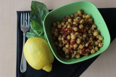 Warm Lemony Chickpea Salad with Toasted Cumin by Veganizzm: The Nuts ...