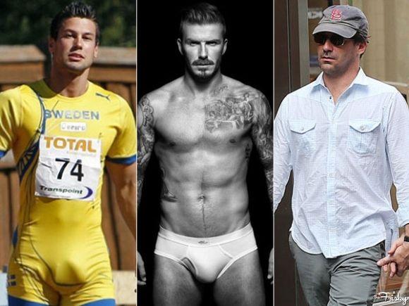 ... Biggest Bulges Of 2012. Jon Hamm should never start wearing underwear