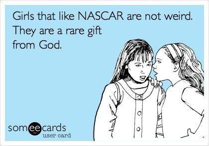 NASCAR girls rule!!!!!!
