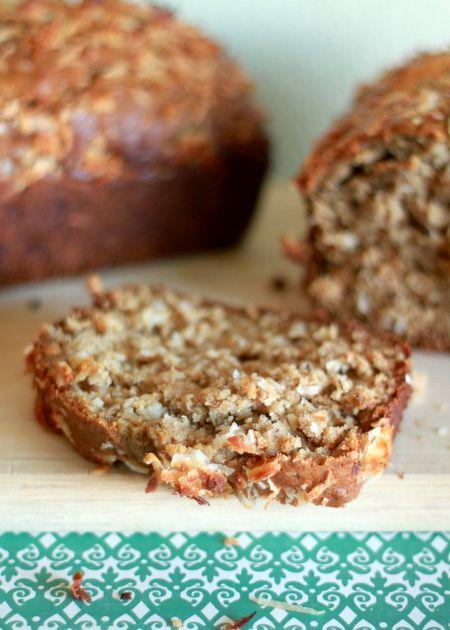 Coconut Banana Bread | Recipe
