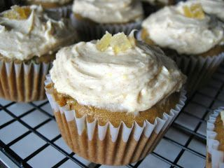 Zucchini Ginger Cupcakes | Cakes & Cupcakes | Pinterest