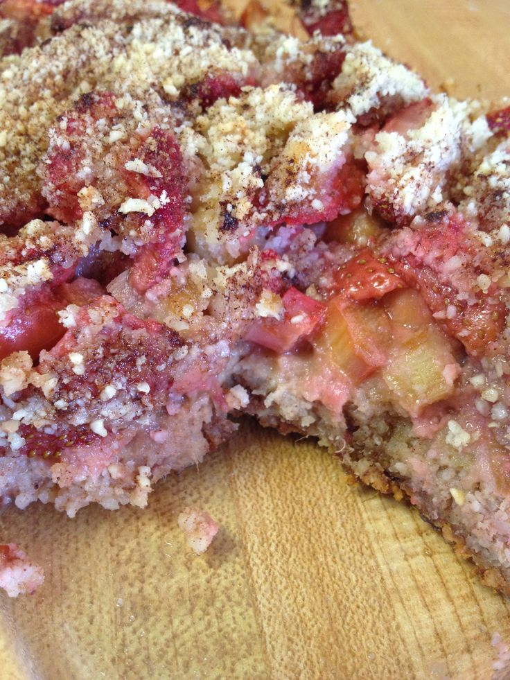 "is best - strawberry-rhubarb ""pie"" Gluten-free, vegan, dairy-free ..."