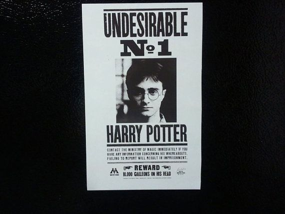 Harry Potter Undesirable Number One | Harry Potter | Pinterest