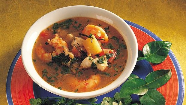 Asian style seafood soup | Soup's on! | Pinterest