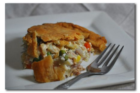 Freezer Meal Recipe – Chicken Pot Pie | Food | Pinterest