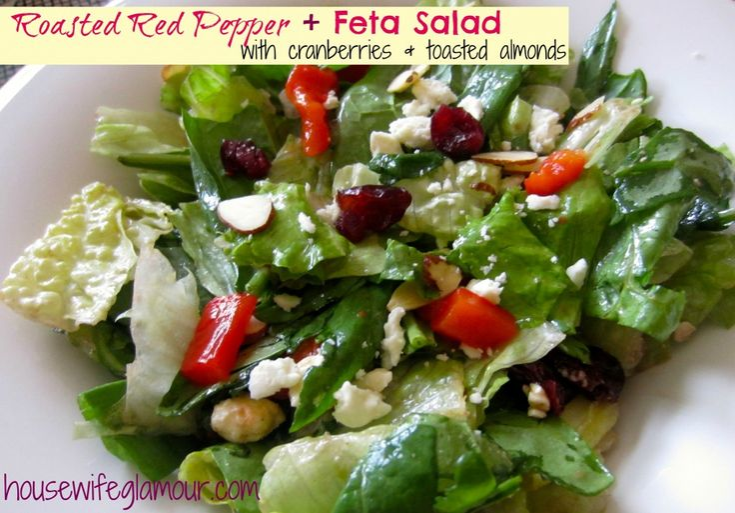 red pepper and feta quinoa salad recipes dishmaps spinach and feta ...