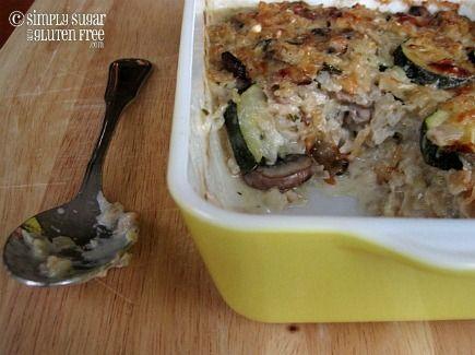 Zucchini & Brown Rice Gratin (GF)   Recipes   Pinterest