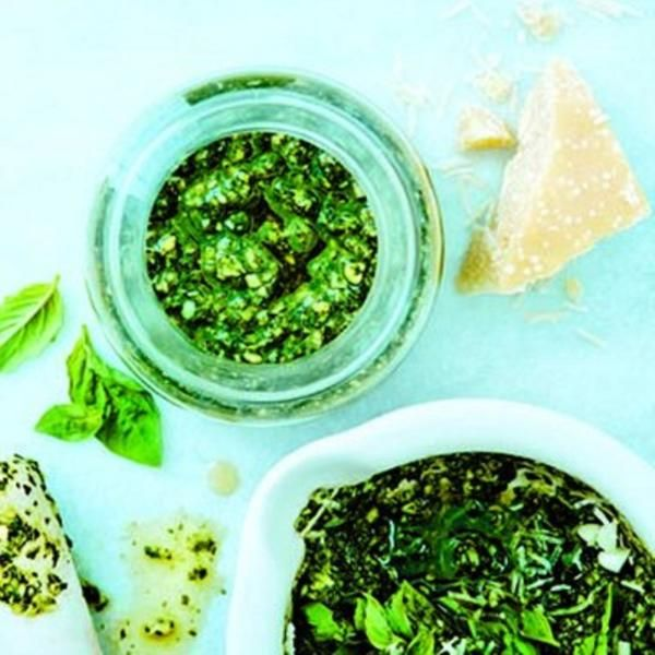 Classic basil pesto recipe - plus some interesting variations! Arugula ...