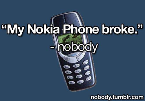 Said no one ever.