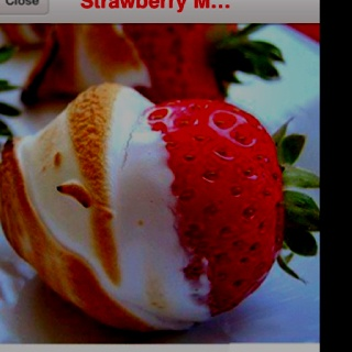 Strawberry Marshmallows | Party Ideas | Pinterest