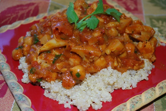 Cauliflower Chickpea Curry | Veggie & Salad Recipes to Try | Pinterest