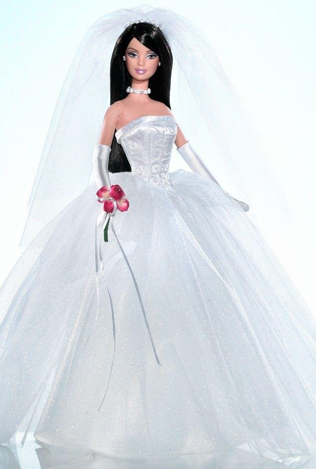 Как сшить для куклы барби с свадебных платьях 591