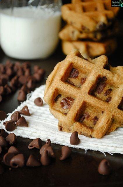 Chocolate Chip Waffle Cookies | Yumola | Pinterest
