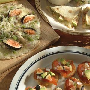 Fresh Fig Salsa and Salmon Fiesta   a la Nuevo Mexico   Pinterest