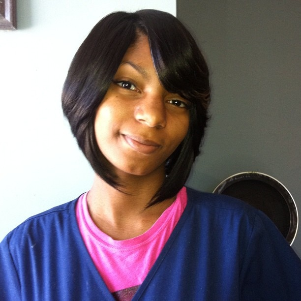 body wave hairstyle : Quick Weave Bob With Hair Out LONG HAIRSTYLES