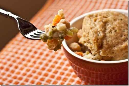 This chickpea pot pie with a biscuit topping is an awesome vegetarian ...