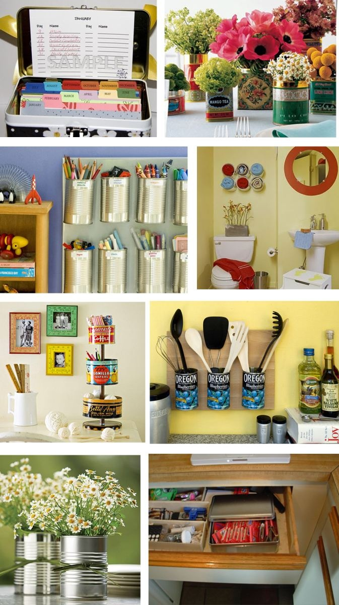 nice ideas using tins