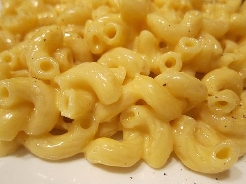 Stovetop Macaroni & Cheese. No roux or cream sauce!