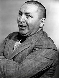Curly Howard, actor, comedian 1903-1952 | Famous People ... Curly Howard 1952