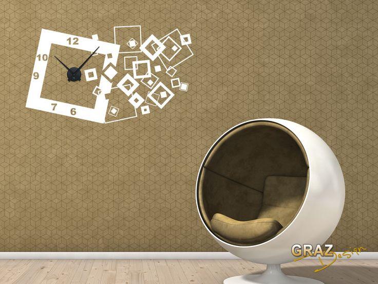 wandtattoo wohnzimmer retro – Dumss.com