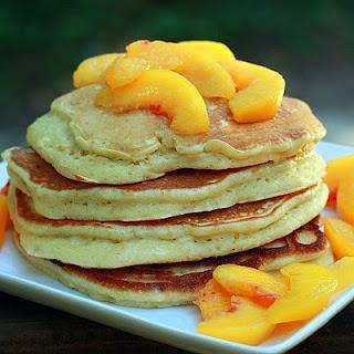 peach pancakes   Take a Break[fast]   Pinterest