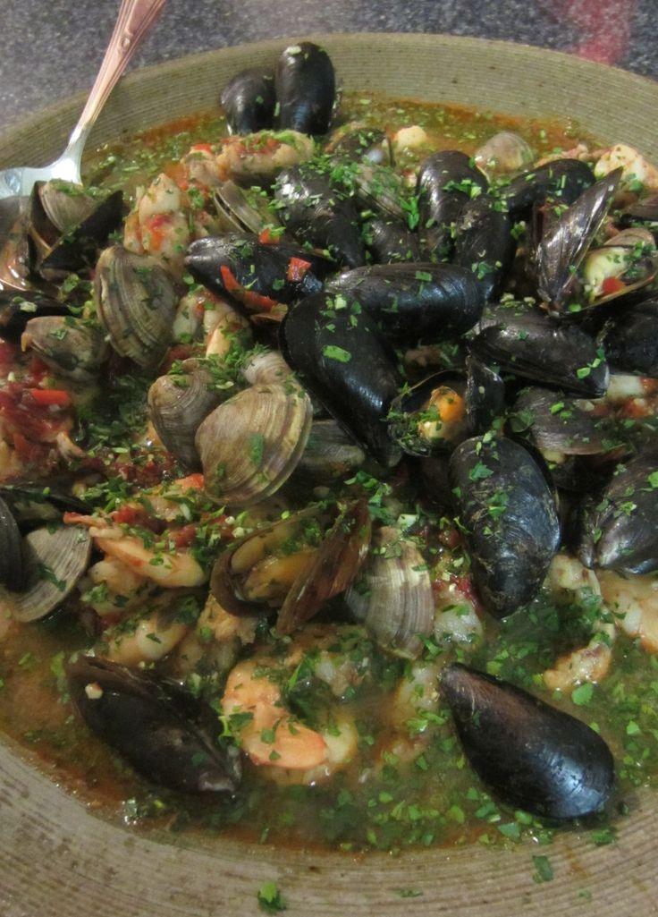 Portuguese seafood stew | Wonderful Winter Food | Pinterest