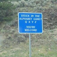 Every car trip we always play this game... this would be an extremely helpful sign!