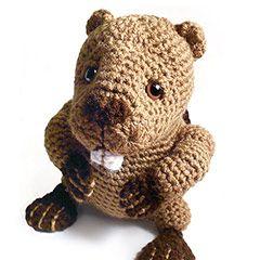 Free Amigurumi Patterns: Beaver Amigurumi