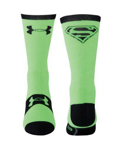 Under Armour Men s Under Armour  174  Alter Ego Superman Crew Socks Medium    Under Armour Hulk Socks