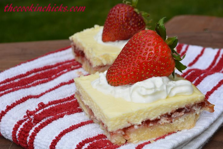 Strawberry Lemon Shortbread Bars   Bars and Squares   Pinterest
