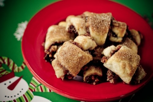 """Chocolate Cherry Rugelach ... via this blog, """"Poet in the Pantry""""."""
