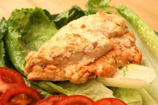 Parmesan and Cheddar Cheese Stuffed Chicken Breast (S)