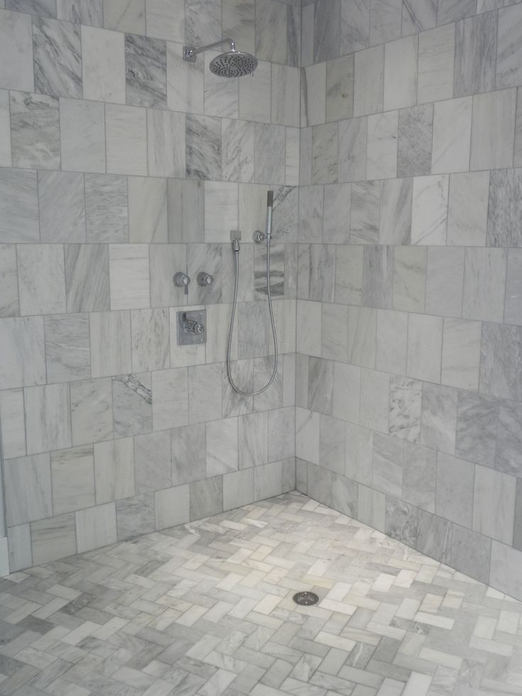 Master Bath Carrera Marble Shower My Dream Master