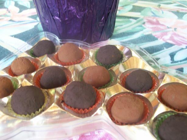 Bittersweet Chocolate-Cassis Truffles | Recipe
