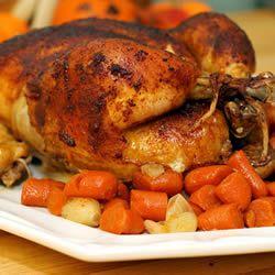 Roast Sticky Chicken-Rotisserie Style | Delish! | Pinterest