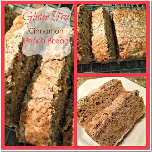 Gluten Free Cinnamon Peach Bread | recipes | Pinterest