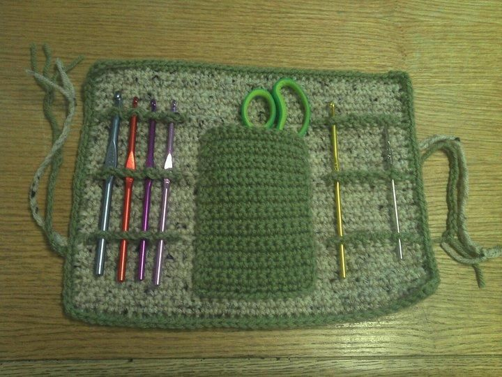 Free pattern for a crochet organizer crochet Pinterest