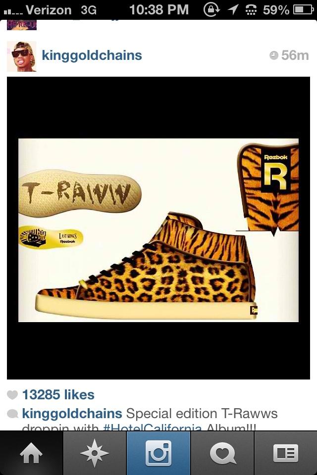 Cheetah tyga shoes