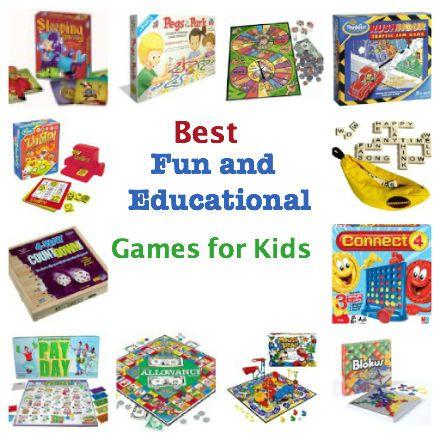 Top Best Fun Educational Board Games Pragmaticmom Repinned