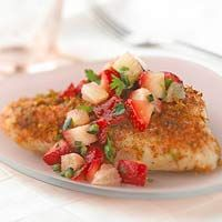 Grilled Bass with Strawberry Salsa Lime is a key ingredient in many ...