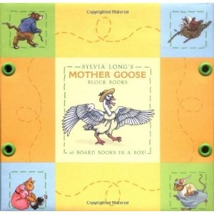 Sylvia Long's Mother Goose Block Books (Board book) http://www.amazon.com/dp/081183574X/?tag=dismp4pla-20
