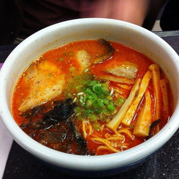 Spicy Miso Ramen @ Santouka Ramen | Ramen | Pinterest