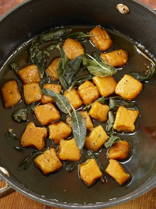 Sweet potato gnocchi with sage butter | pasta, noodles , rices | Pint ...