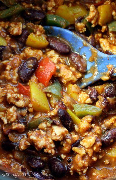 Easy Turkey Chili recipe from Jenny Jones (JennyCanCook.com ...