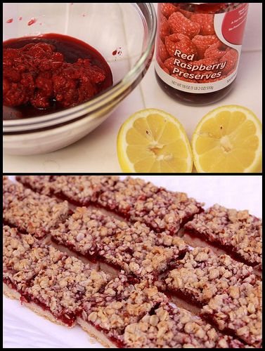 Raspberry Streusel Bars - Cooks Illustrated recipe. These are ...