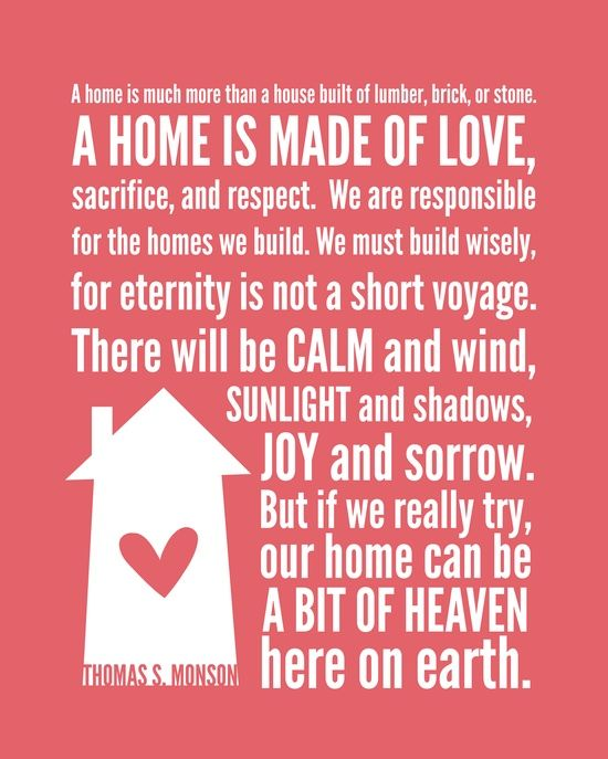Famous lds quotes quotesgram for Family quotes lds