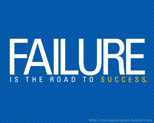 failure leads to success essay