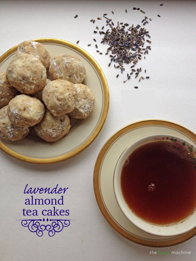 Lavender Almond Tea Cakes | Recipe