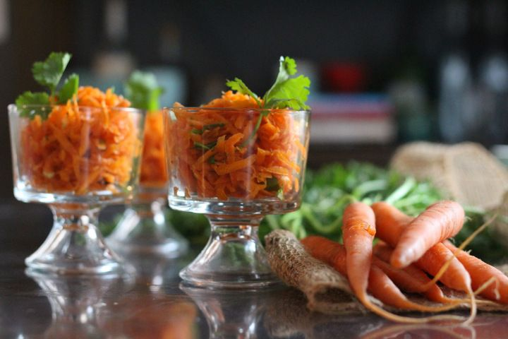 Spicy Carrot Salad | The Mommypotamus | | Food: Meatless or combo (Eg ...