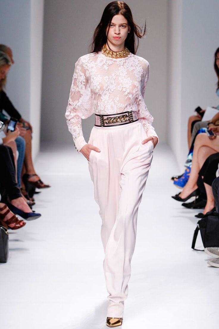 Balmain Spring 2014 RTW - Runway Photos - Fashion Week - Runway, Fashion Shows and Collections - Vogue